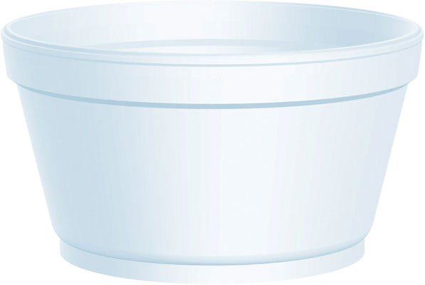 12SJ32 CONTAINER 12oz Foam 500/cs (32JL lid)