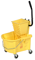 * 226-312YW, YELLOW Splash Guard 26qt Bucket Combo with