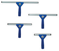 "2475 SQUEEGEE 18"" ABS Plastic Window Blue 1/ea or 12/cs"
