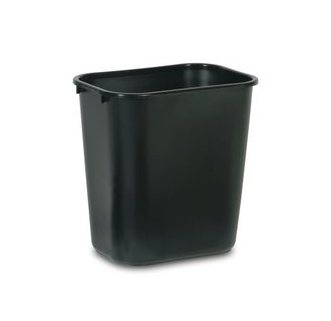 2956 Waste Receptacle Black  26.6L (Medium)