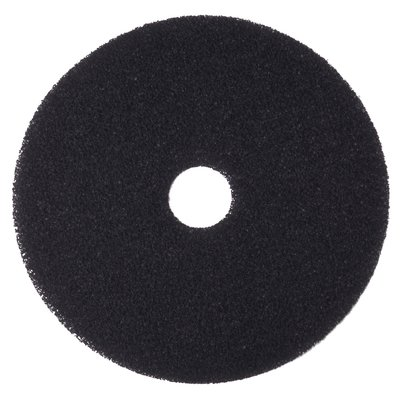 "13"" BLACK Stripping Pad, 5/cs"