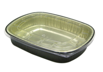 ( ! ) 6708WPSFG CONTAINER Aluminum Classic Tray & Dome