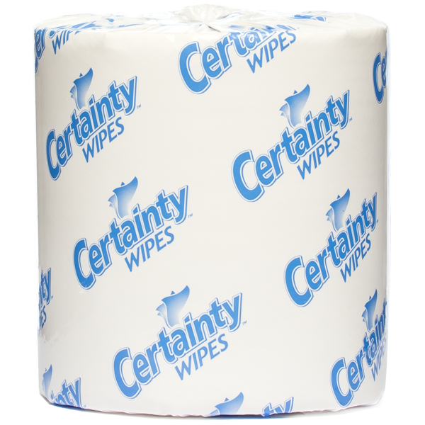 (!) 91200 WIPES CERTAINTY Disinfectant 2x1200rl/cs