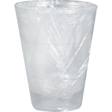 GL45580/ DPJ588000 CUP 9oz  Translucent Wrapped 1000/cs
