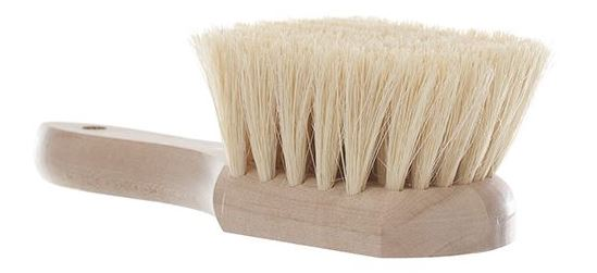 "* 9"" natural tampico fibre utility brush 10/cs"
