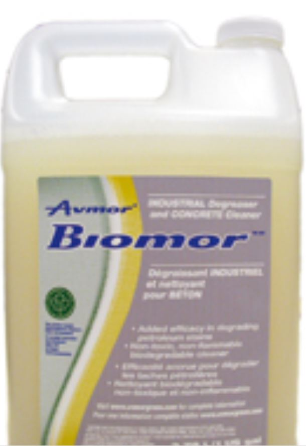 * BIO-MOR Industrial Degreaser/ Concrete Cleaner