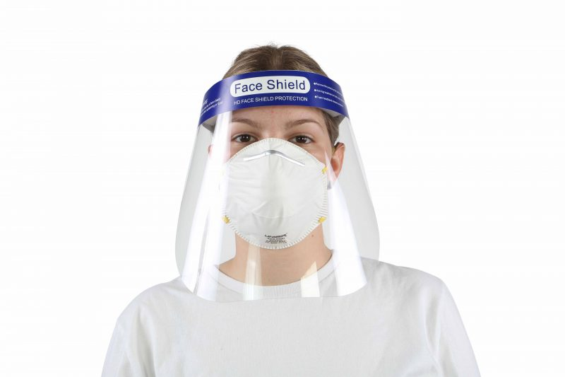 7740 FACE SHIELD Anti-Fog 2/pk