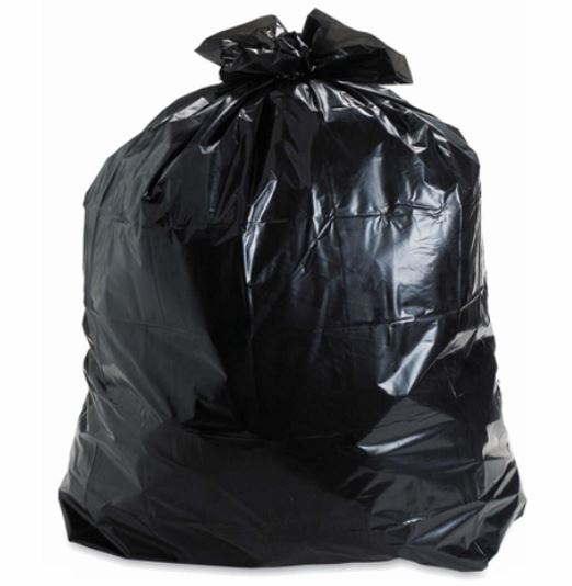 2022N GARBAGE BAG 20x22 Regular Black, 500/cs
