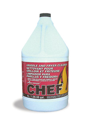 CHEF Griddle,Oven Fryer Cleaner, 4x4L/cs