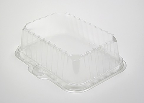 (!) 0CI8D2S00000 LID Dome For  2 and 2S Trays (Deep), 250/cs