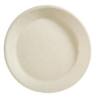 "21018 PLATE 8"" Paprus Pie 500/cs"