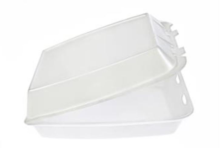 "* 87512, FST-2A COMPT TRAY      WHITE, 8.4x8.4x3.1"" 200/cs"