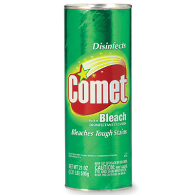 04967 CLEANSER Comet Powdered 24x400g/cs