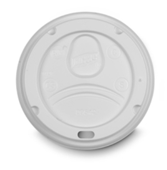 ( ! ) D9542, WHITE Dome Lid For PERFECTOUCH 10, 12 & 16OZ,