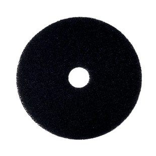 "17"" BLACK Stripping Floor Pads, 5/cs"