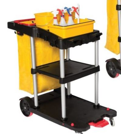 * 3007 JANITOR CART 2 Tier 1/ea
