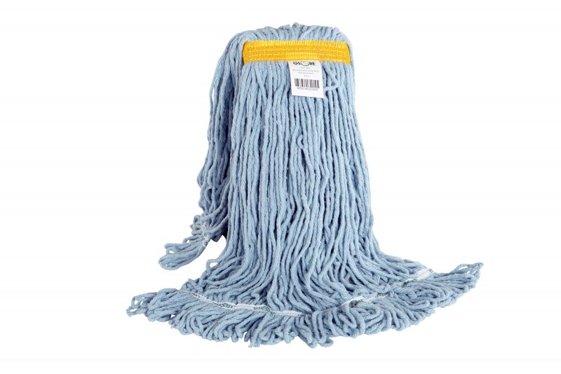 3092, 24oz BLUE Synthetic Looped End Wet Mop Narrow