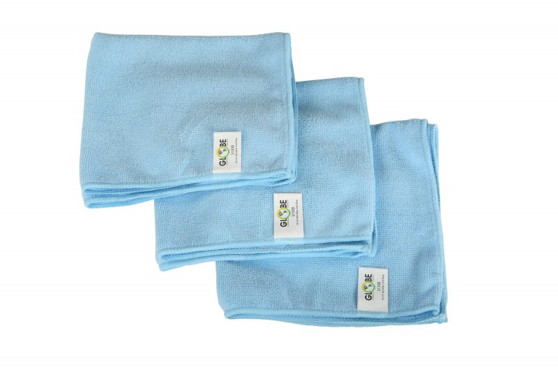 "3130B, BLUE 16""x 16"" Microfiber Cloth, 1/EA or"