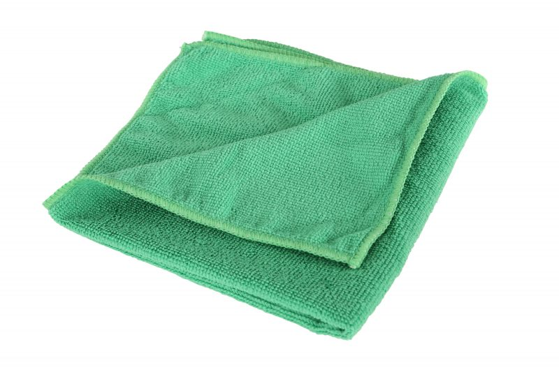 "3130G, GREEN 16""x 16"" Microfiber Cloth Green, 1/ea"