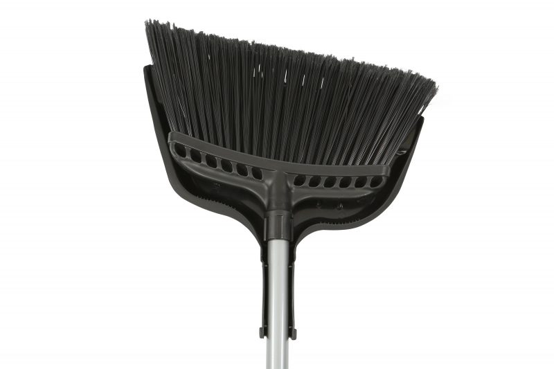 "4011 BROOM 12"" Large Angle  w/ 48"" Metal Handle 12/CS"