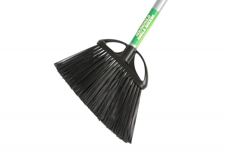 "4010 BROOM 10"" Angle w/ 48"" Metal Handle 12/cs"