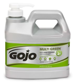 * 0989-04 HAND CLEANER Eco Multi Green with pump 4x2L/cs