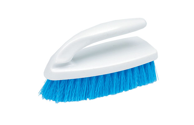 "* 101  6"" Iron Plastic Scrub Brush, 20/cs"