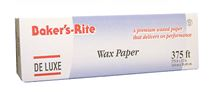 "(!) 160375 WAX PAPER ROLL 12""x 375' Bakers-Rite 6rl/cs"
