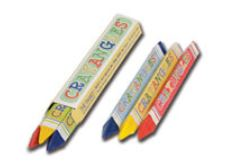 * 913-001, Crayons 3-pack CrayAngle Triangular, 500/CS