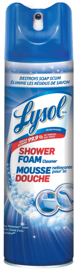 * 76342, Lysol Bathroom Cleaner Aerosol 12x680g/cs