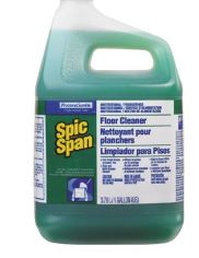 * 02001, SPIC AND SPAN FLOOR CLEANER, CONCENTRATED, 3.78L,