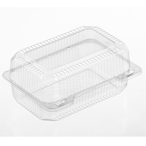 ( ! ) 2419 Par-Pak EXTRA DEEP Lunch Box Hinged PETE