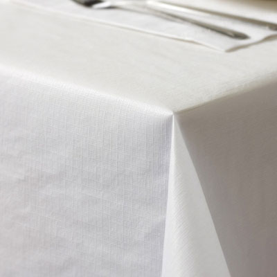"470-000 BANQUET ROLL  Plastic 40""x300' White"