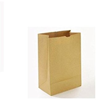 * 12X7X17 DD65 Kraft Car Order Sacs, 400/cs