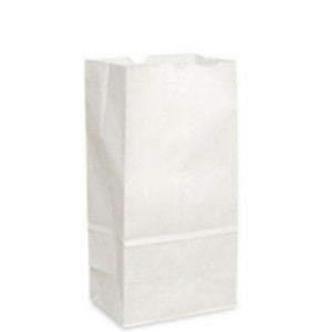 * 14lb Grocery Bag Brown Heavy 500/bu