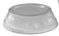 ASD662-4 LID Dome Clear Souffle 1000/cs (Fits