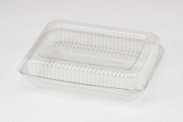 * TV0206P, Hinged PET Bakery Container, 400/cs
