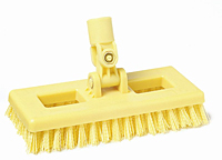 Swivel Scrub Brush - General Purpose with Threaded