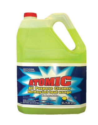 2211278001 ATOMIC CLEANER All Purpose 1/ea or 4x4L/cs (NEW