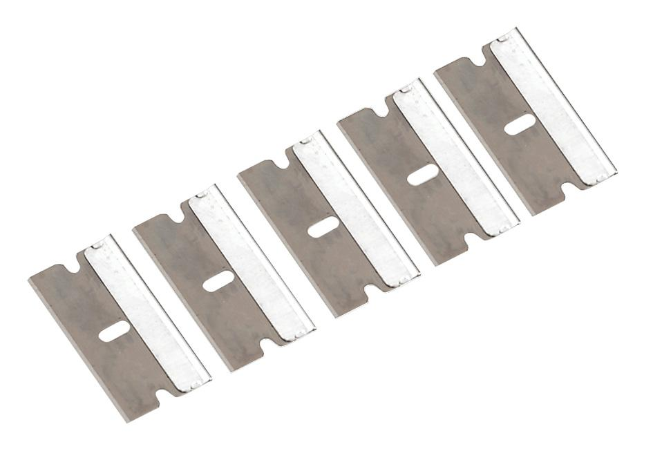 * Refill blades for Metal Razor Pocket Scraper 100/bx