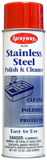 SW841 CLEANER Stainless Steel SPRAYWAY 12x15oz/cs